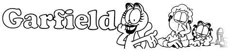 Garfield Hates Mondays Loves Fonts