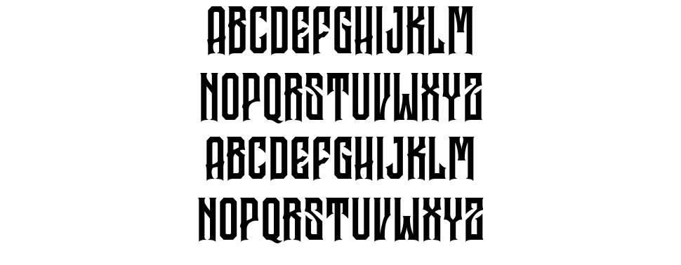 Garreng font