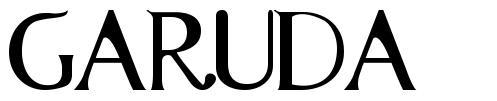Garuda font
