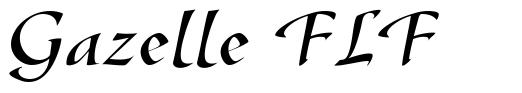 Gazelle FLF font