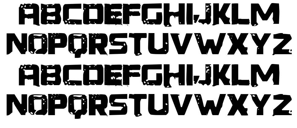 generator rex font by spideray fontriver