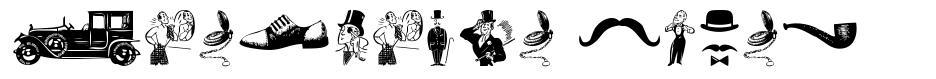 Gentleman Icons font