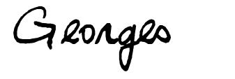 Georges font