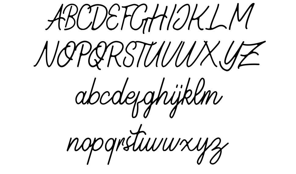 Geralia font