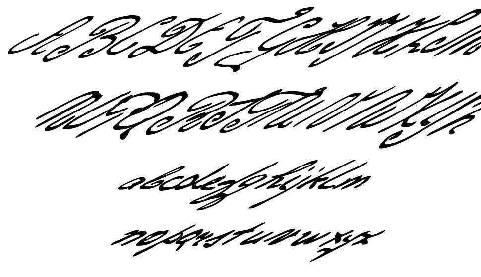 Gerards Gold font