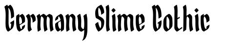 Germany Slime Gothic