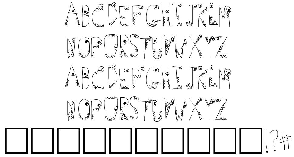 Germs font