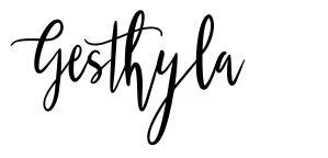 Gesthyla font