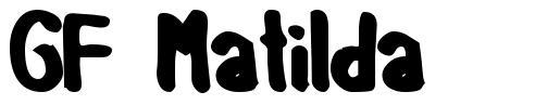 GF Matilda font
