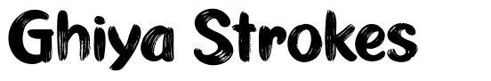 Ghiya Strokes