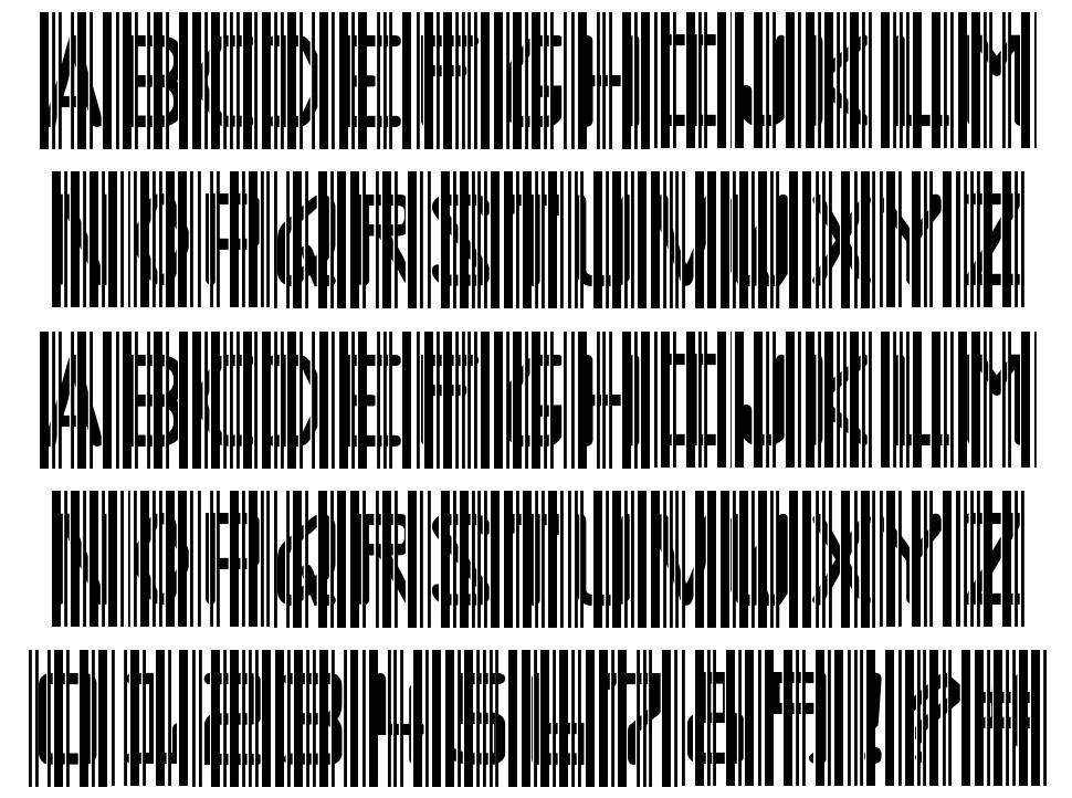 Ghost Code font