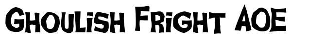 Ghoulish Fright AOE font