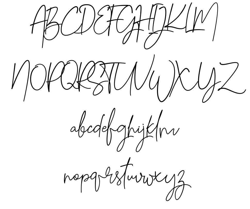 Gilani Sign font