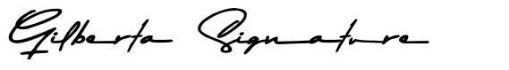 Gilberta Signature