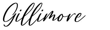 Gillimore font