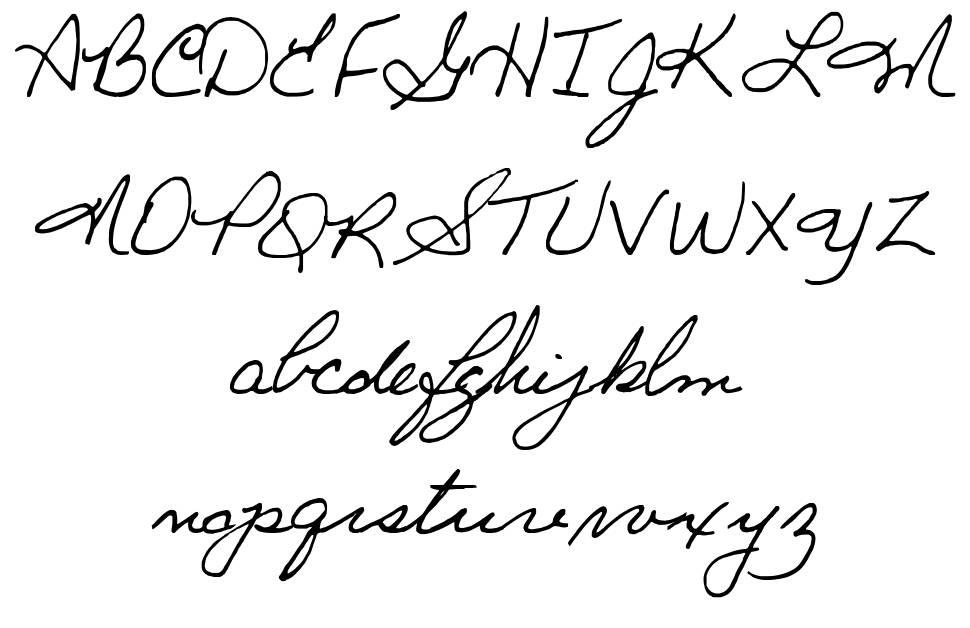Ginette font