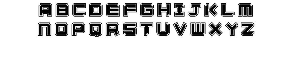 Ginza font
