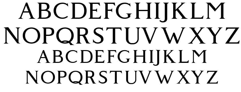 Giveny フォント