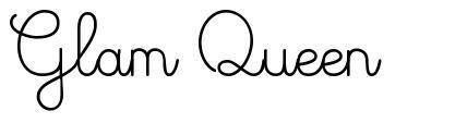 Glam Queen font