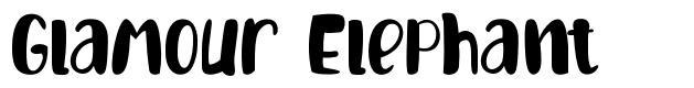 Glamour Elephant font