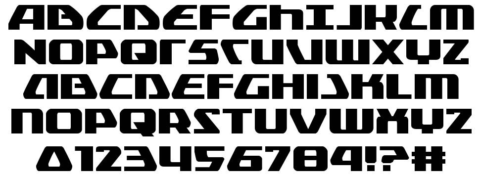 Global Dynamics font