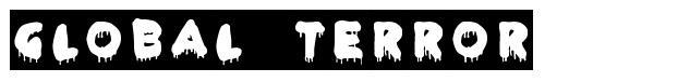 Global Terror font