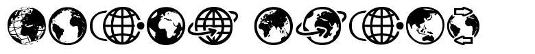Globe Icons font