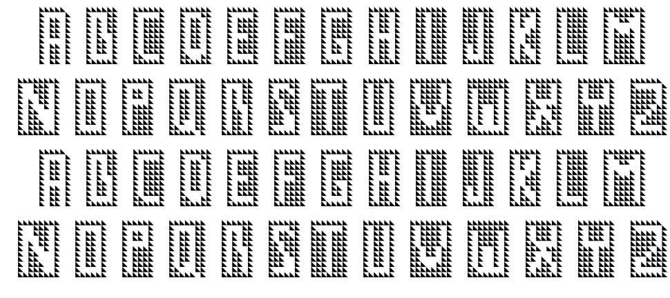 GM No1 font