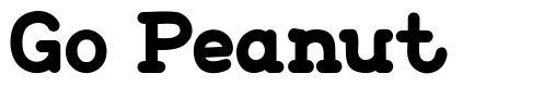 Go Peanut font