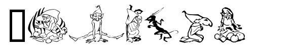 Goblins 字形