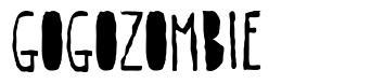 Gogozombie font