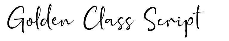 Golden Class Script fuente