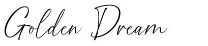 Golden Dream font