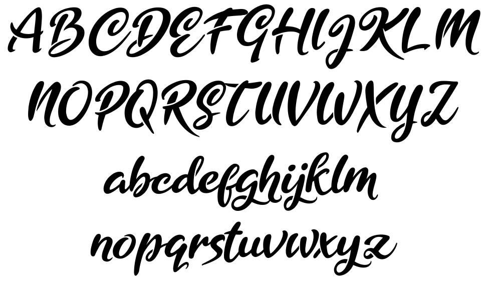 Golden Ranger font