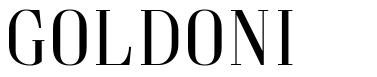 Goldoni font