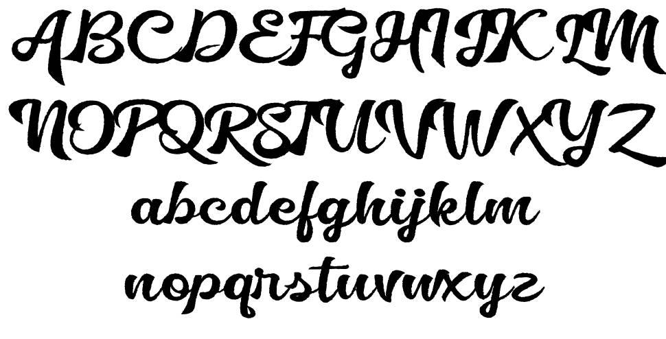 Golliath 字形
