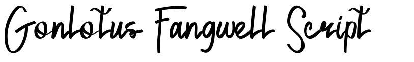 Gonlotus Fangwell Script