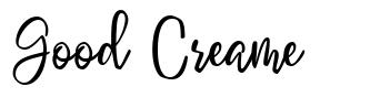Good Creame schriftart