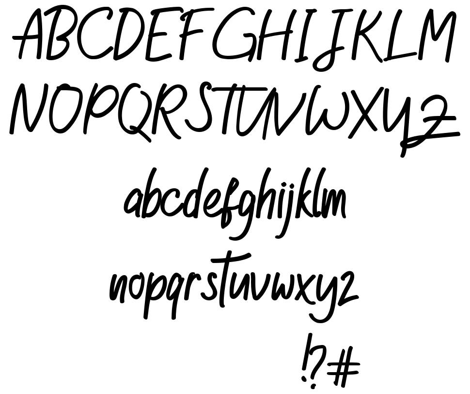 Good Happiness font