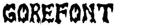 GoreFont