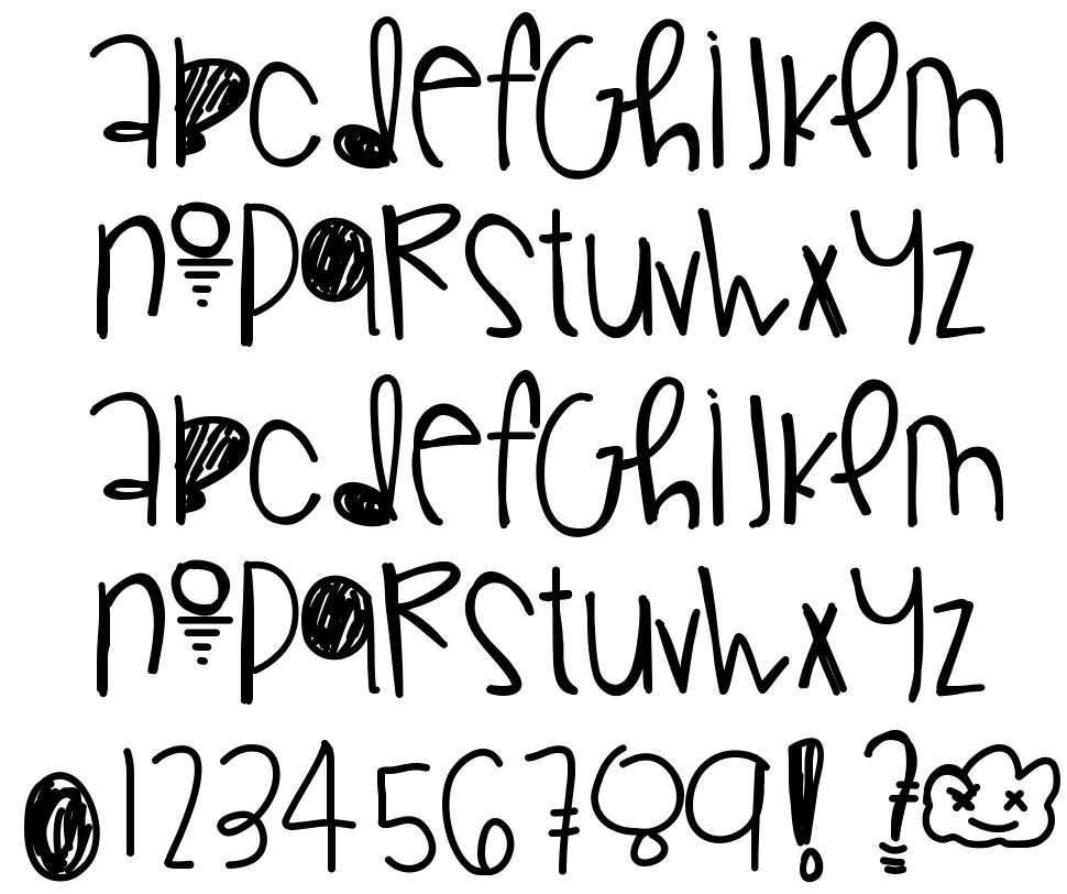 Gorgeous Flaws font