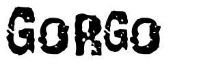 Gorgo font