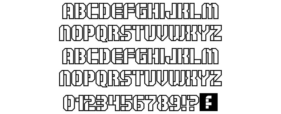 Goshawk Military Regular font