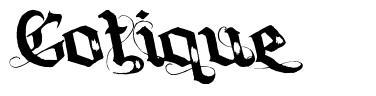 Gotique font