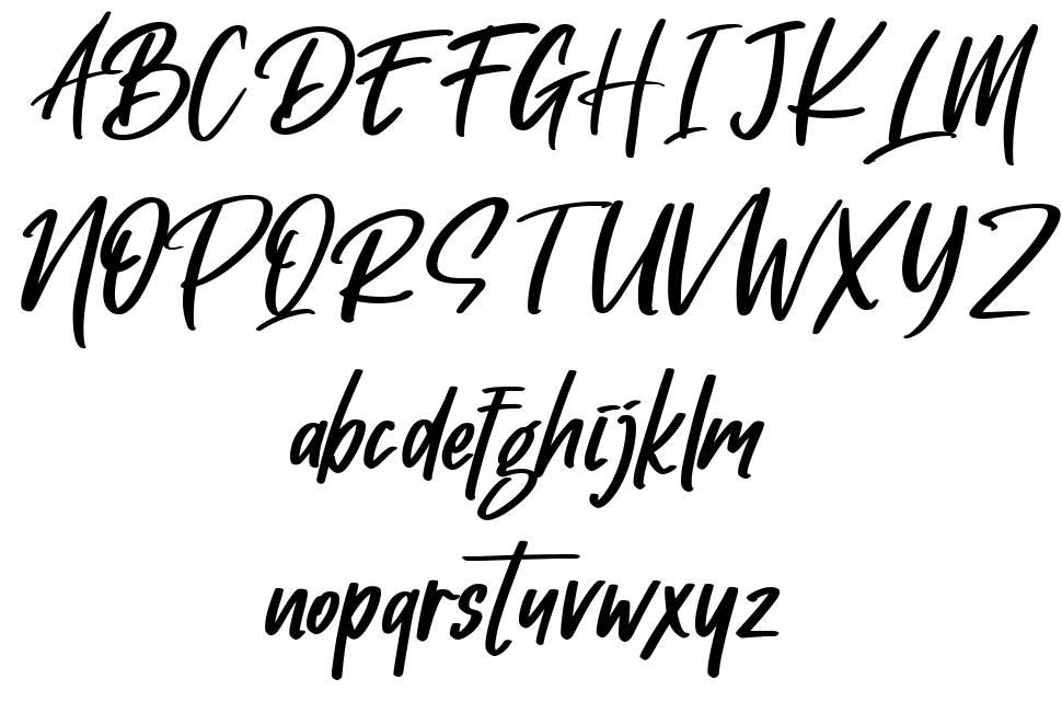 Gotten Say font
