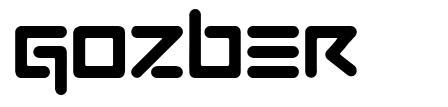 Gozber font