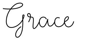 Grace fonte