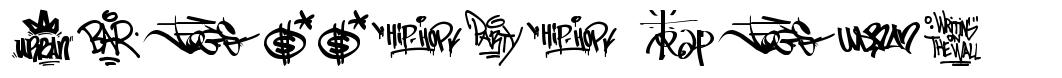 Graffiti Tags font