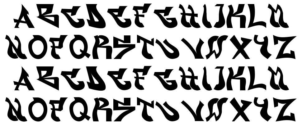 Graffont font