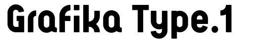 Grafika Type.1 fuente